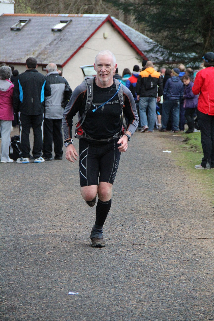 Highland Fling finish