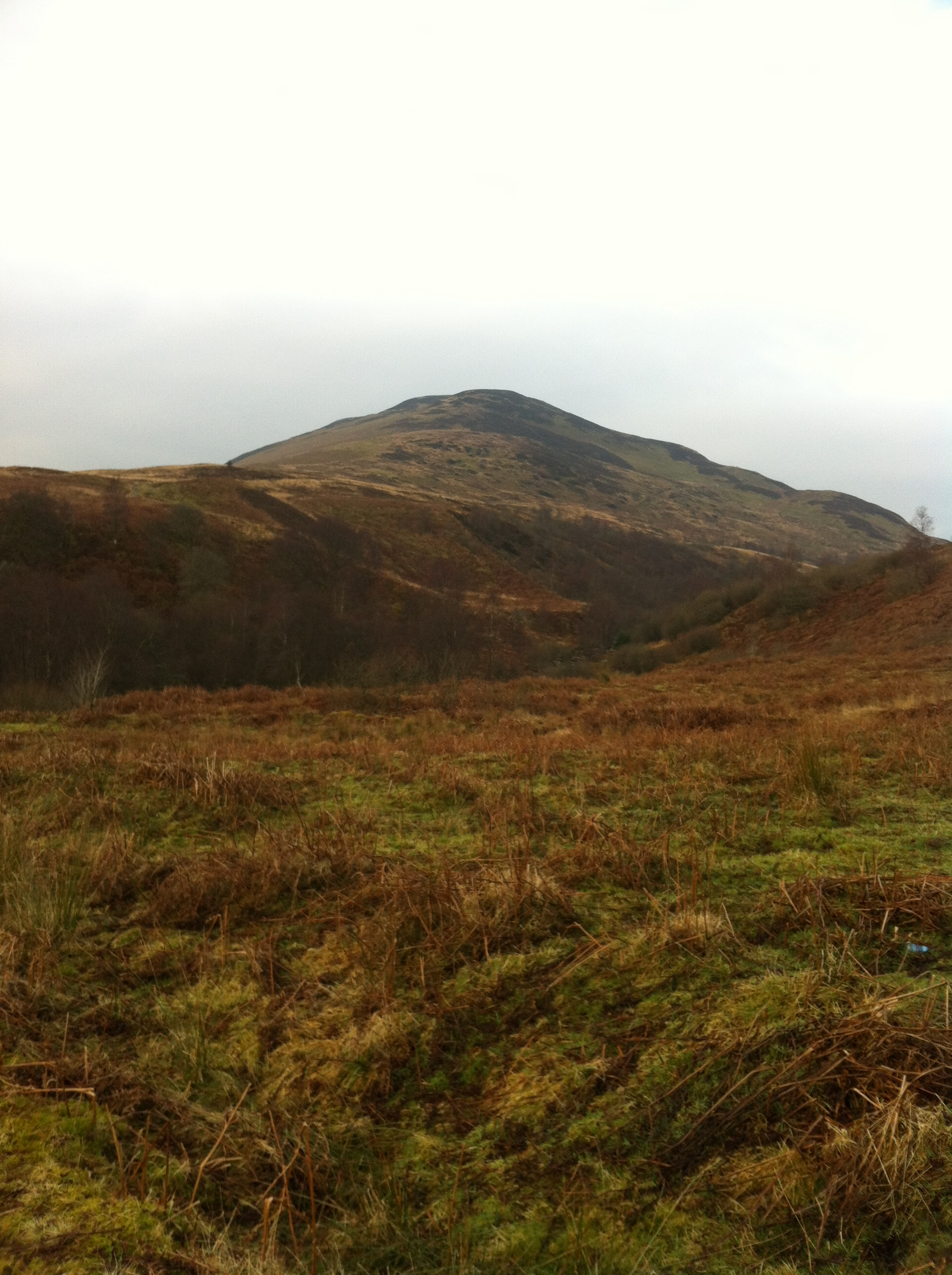 Approaching Conic Hill